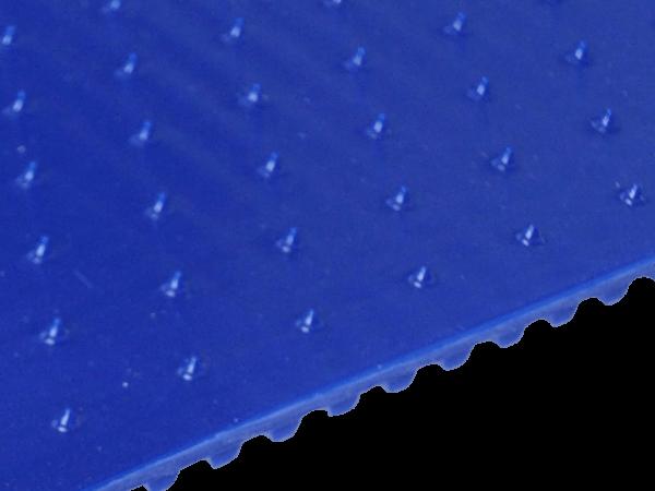 FDA Lebensmittel-Zahnriemen T5 kleine Spikes mit Versatz 17 x 10 mm