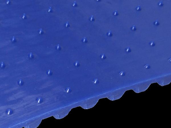 FDA Lebensmittel-Zahnriemen T10 kleine Spikes in Reihe angeordnet 17 x 10 mm