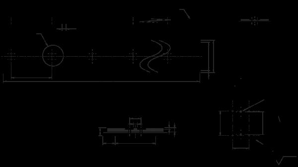 PU Vakuum-Zahnriemen 80AT10-1200 mit 5 mm Sylomer