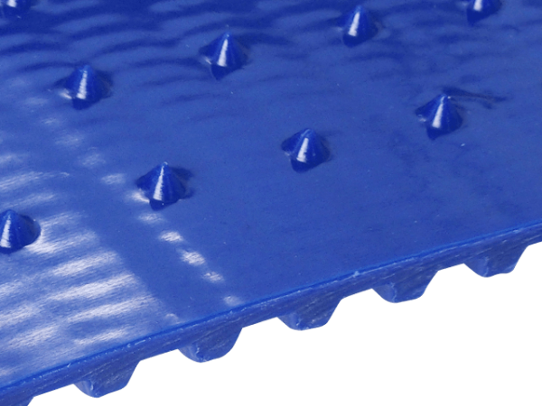 FDA Lebensmittel-Zahnriemen T10 große Spikes mit Laufspur und Versatz 15 x 15 mm