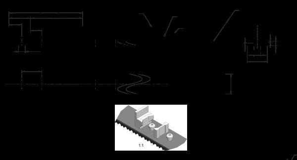 Flexzahnriemen Vakuum mit Nocken 30ATP10-1980 PAZ