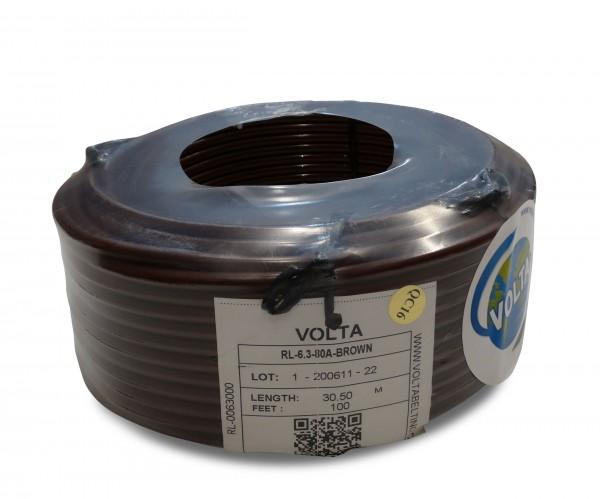 RL 6,3 braun FDA Volta PU Rundriemen