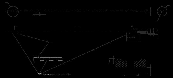 Vakuum-Zahnriemen mit Beschichtung und ovalen Lochungen 13,5T10-4440