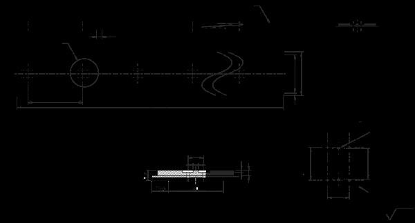 PU Vakuum Zahnriemen 80AT10-1200 mit 5 mm PU gelb